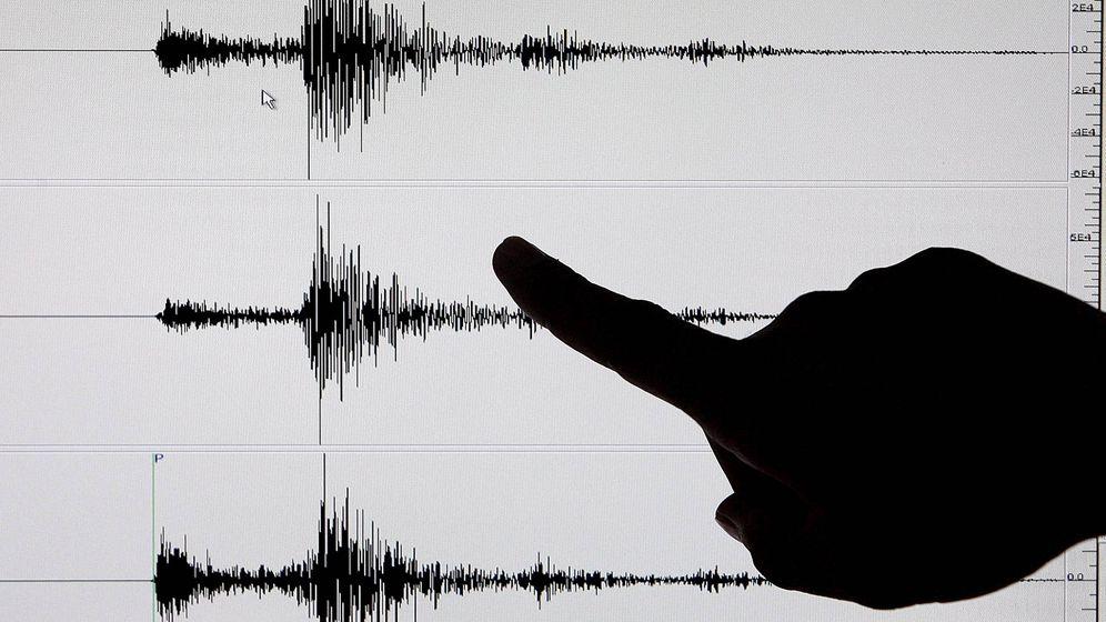 Foto: Imagen de archivo de un sismógrafo. (EFE)