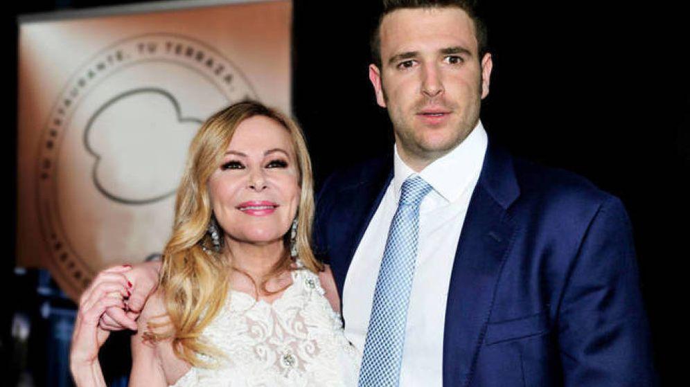 Foto: Ana Obregón, con su hijo Álex. (Getty)