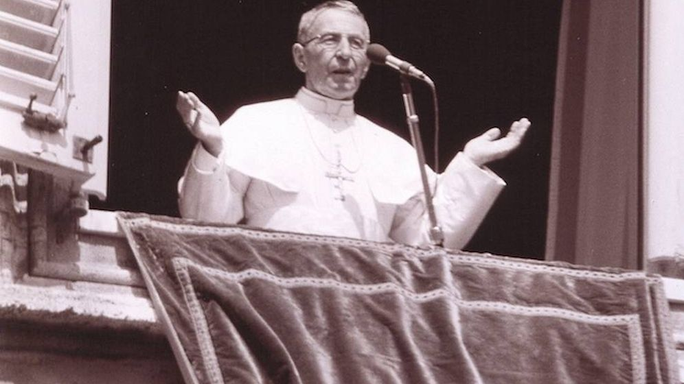 Foto: El Papa Juan Pablo I, algunos días antes de fallecer. (CC/Wikimedia Commons)