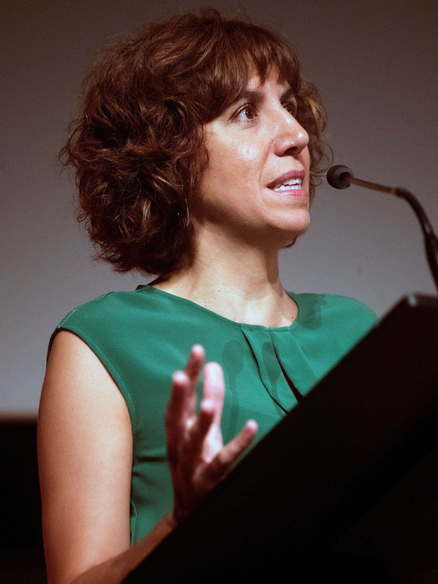 Irene Lozano, el pasado 7 de septiembre en Barcelona. (EFE)