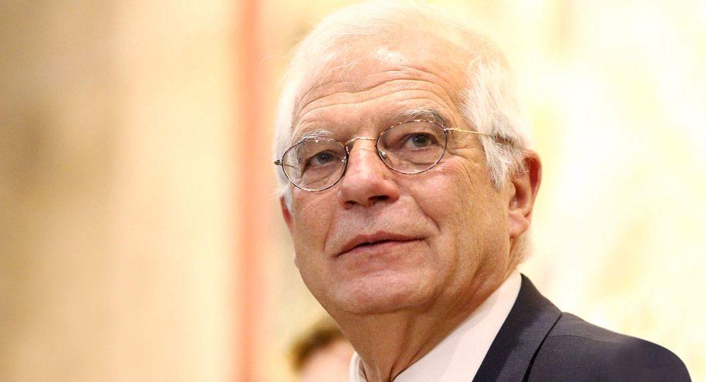 Foto: Josep Borrell en una fotografía de Cordon Press.