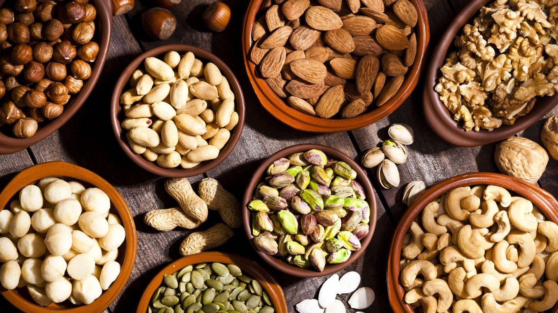 Los frutos secos que pueden ayudarte a adelgzar. (iStock)