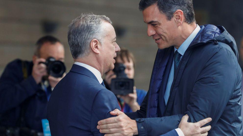 Sánchez premia a Urkullu con el traspaso del régimen económico de la Seguridad Social