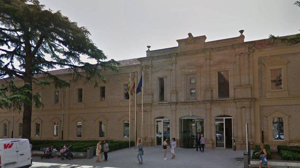 Foto: Palacio de Justicia de Logroño donde el acusado debía comparecer. (Google Maps)