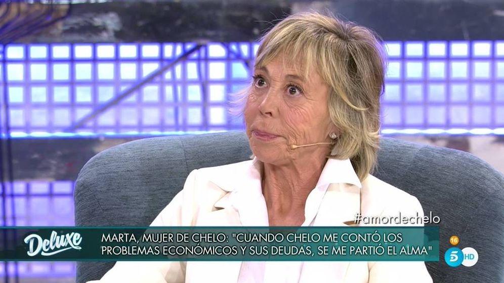 Foto: Marta Roca, en 'Sábado Deluxe'. (Telecinco).