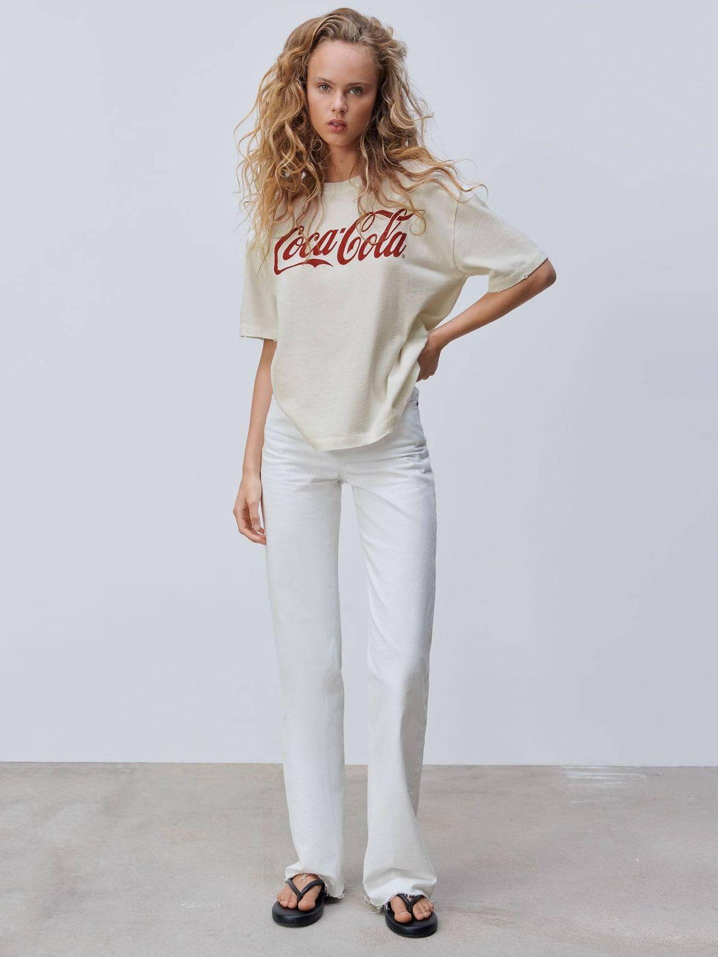 Camiseta de Coca-Cola de Zara. (Cortesía)