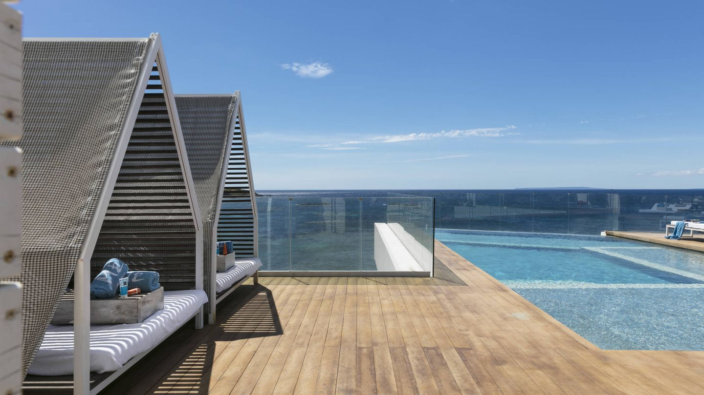 Vistas del rooftop. (Me Ibiza)