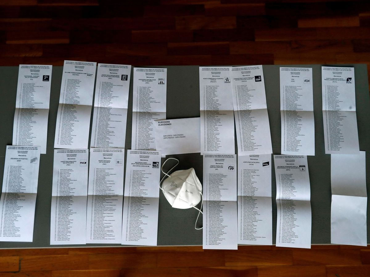 Foto: Elecciones de Cataluña. (EFE)