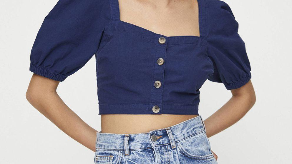 Esta blusa de Pull and Bear es aún más fabulosa con este pantalón