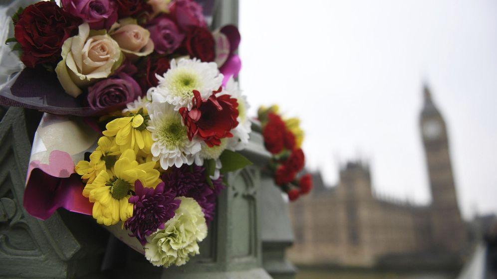 Foto: Homenaje a las víctimas del atentado de Londres. (EFE)