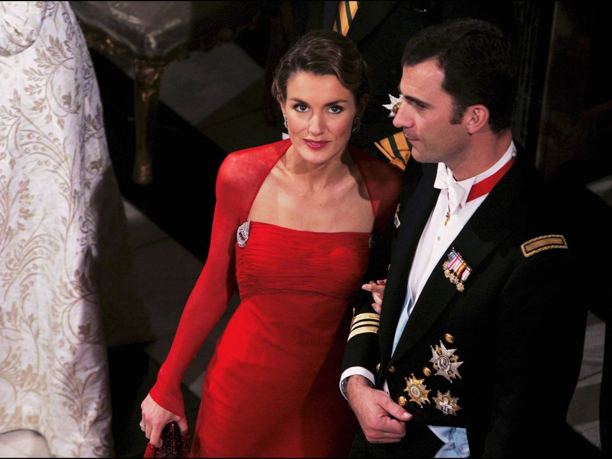 Foto: Felipe y Letizia, en la boda danesa. (Getty)
