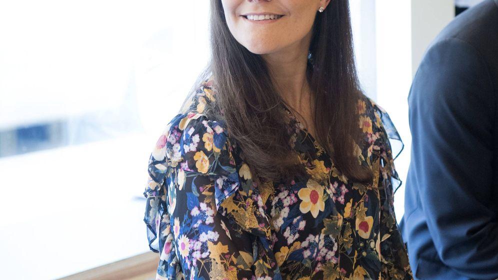 Foto: Victoria de Suecia durante el acto. (Cordon Press)