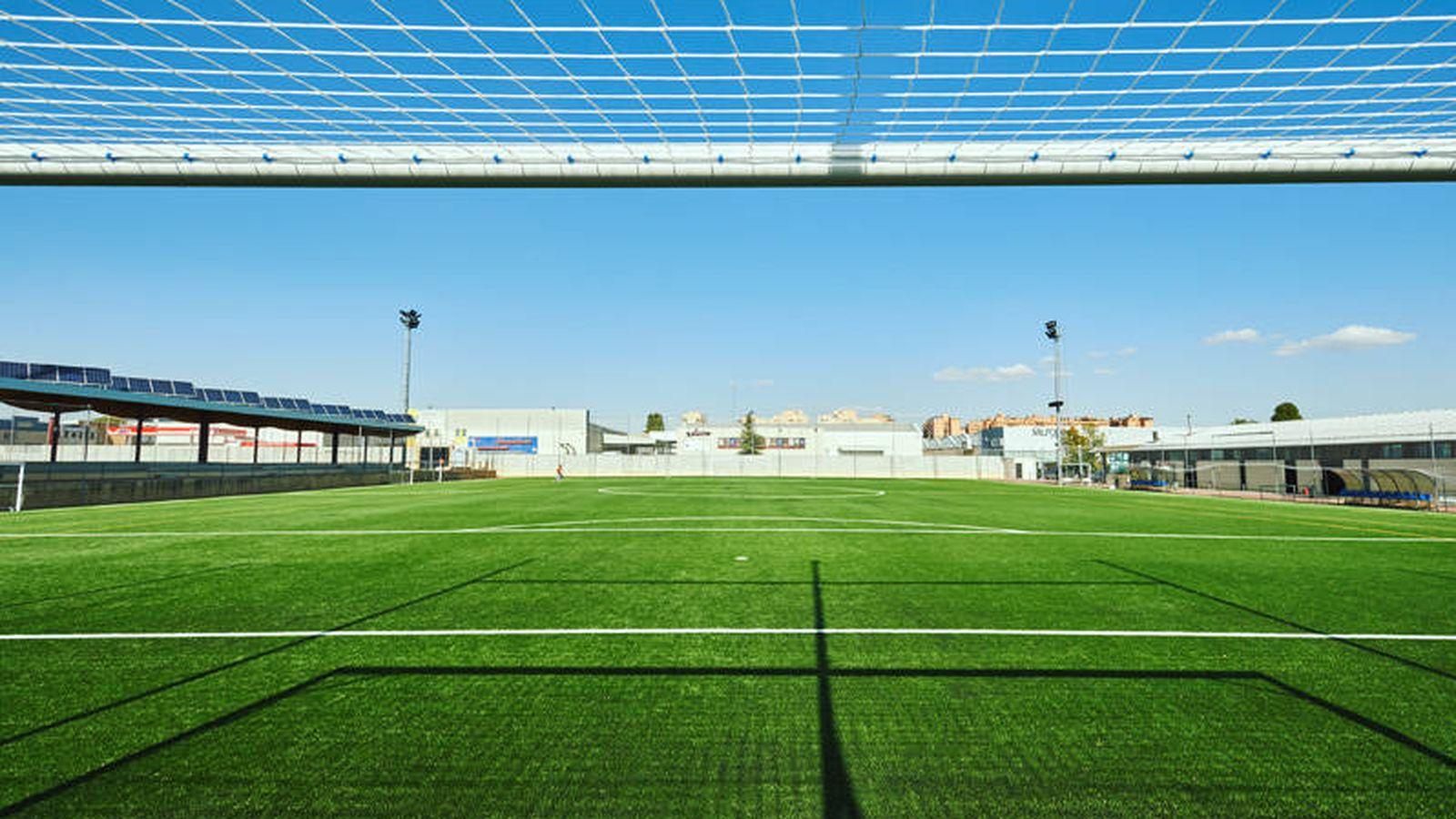 Foto: Uno de los campos de fútbol incluidos en el contrato.