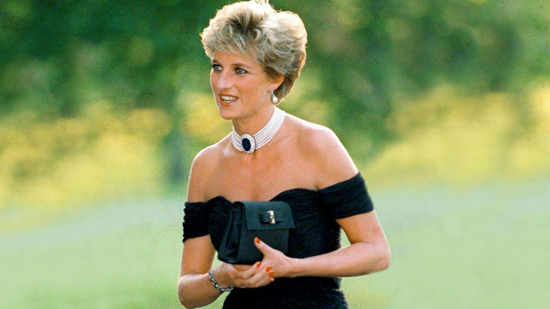 El maquillaje de Diana de Gales, el día del 'vestido de la venganza'. (Cordon Press)