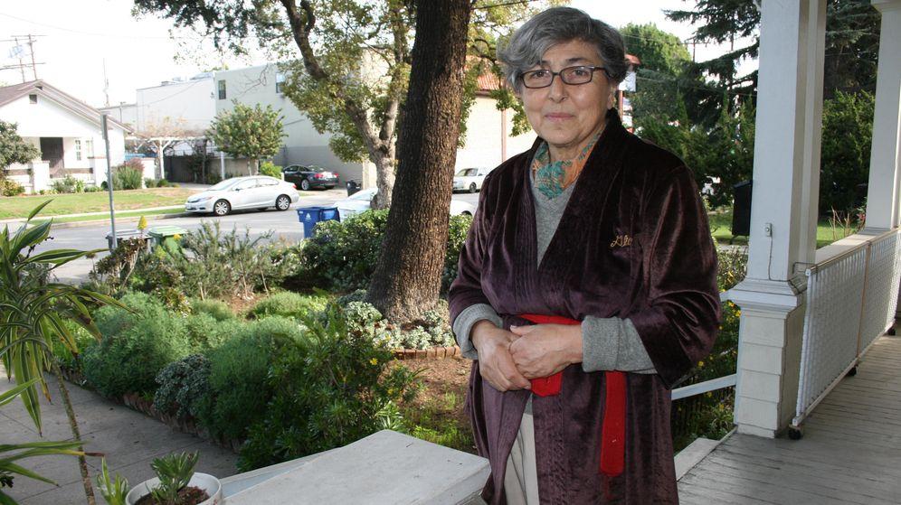Foto: El jardín de la señora H. fue el primero sin césped en su calle (E.C.)