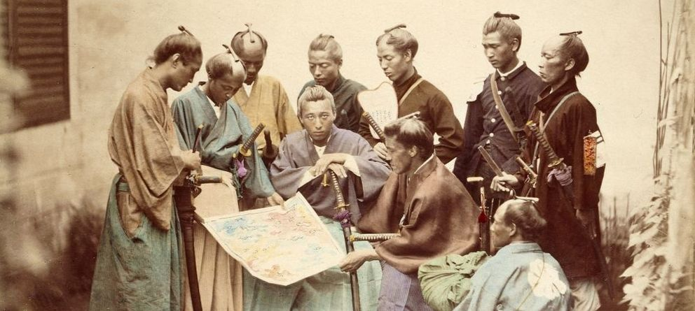 Foto: Samuráis durante la Guerra Boshin. (Wikipedia)