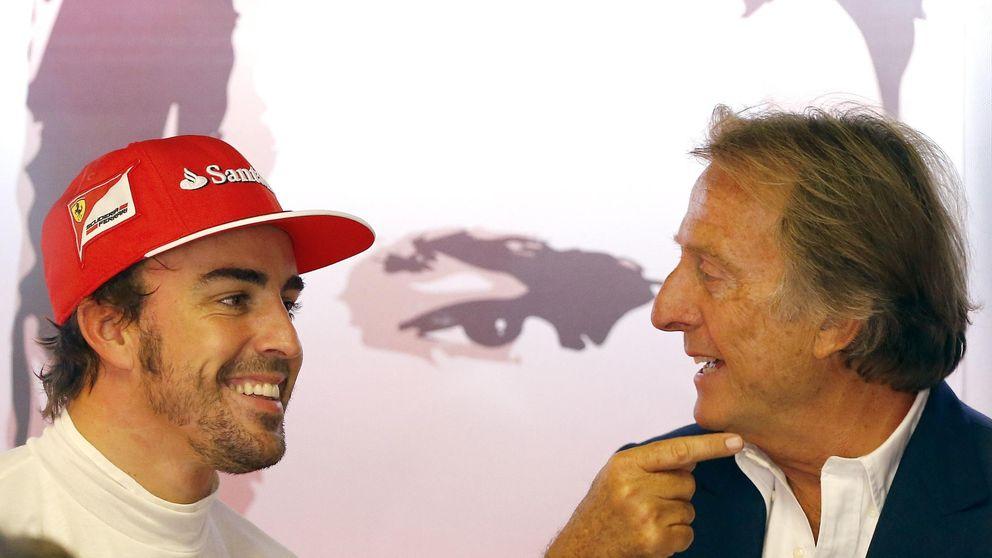 Montezemolo echa un capote a Fernando Alonso sonrojando a Ferrari