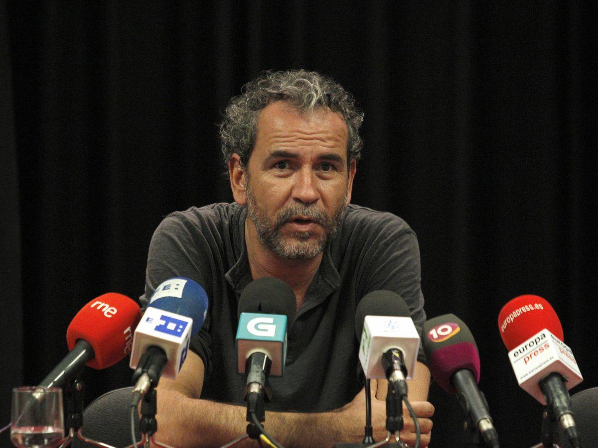Foto: El actor Willy Toledo durante una rueda de prensa. (EFE)