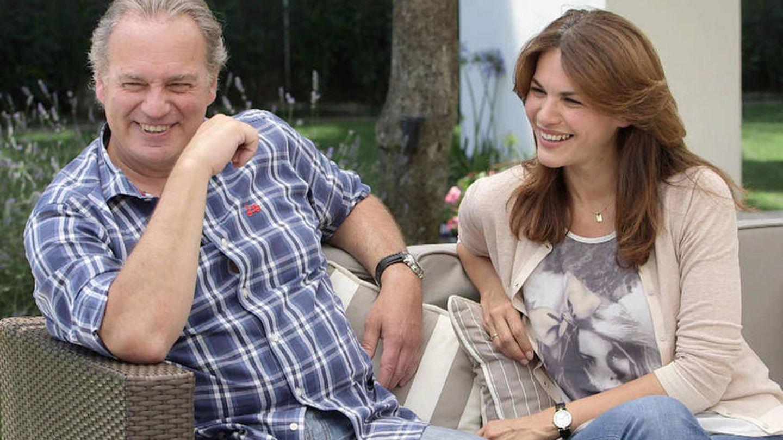 Bertín y Fabiola, en el programa de Telecinco. (Mediaset)