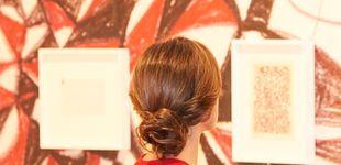 Post de Doña Letizia se convierte en una obra de Klimt en su visita a ARCO