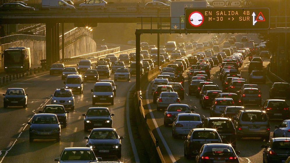 Foto: Los accesos a Madrid desde el sur son un punto crítico en la movilidad. (EFE)