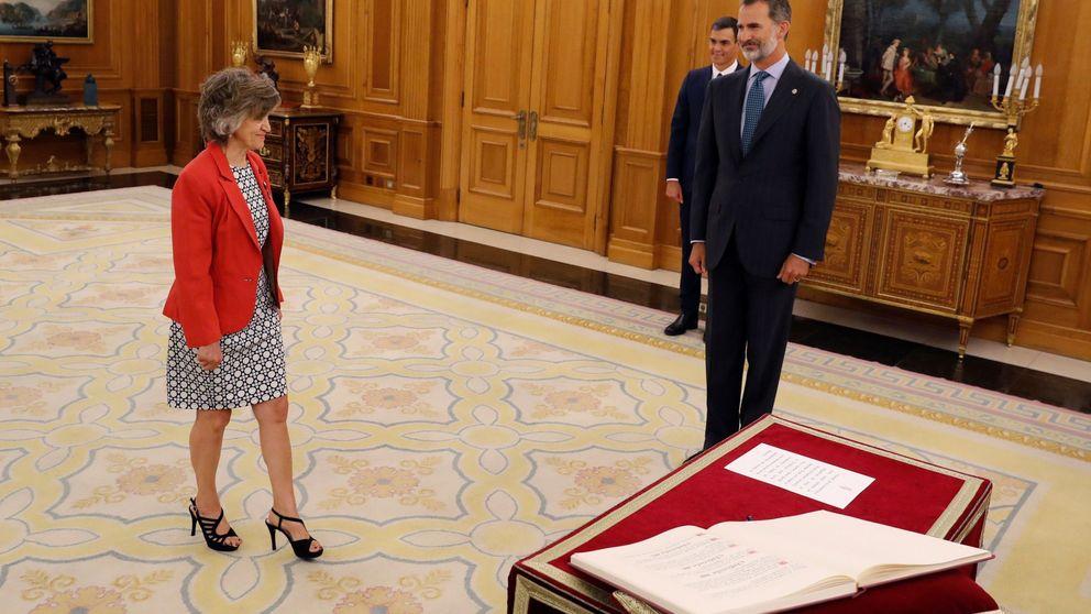 Sánchez elogia a Carcedo como mujer de principios y trabajadora incansable