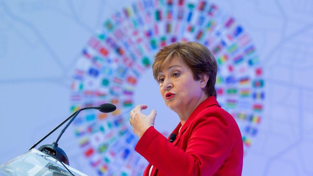 Foto: La directora del FMI, Kristalina Georgieva. (Reuters)