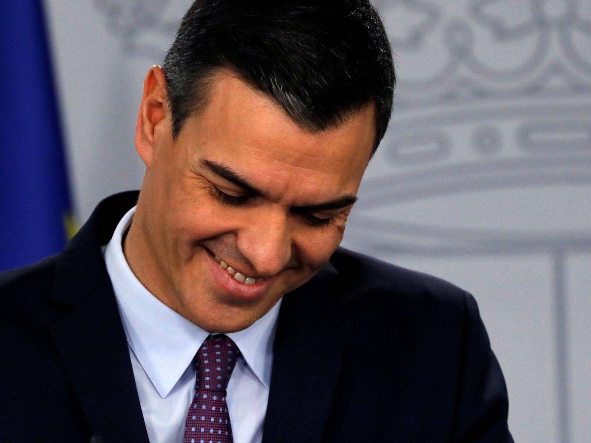 Foto: Pedro Sánchez se pone coqueto. (Reuters)