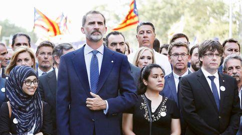 En directo, los actos en homenaje a las víctimas de los atentados de Barcelona y Cambrils en Plaza Cataluña