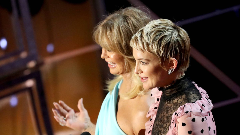 Goldie Hawn y Kate Hudson, madre e hija. (Getty)