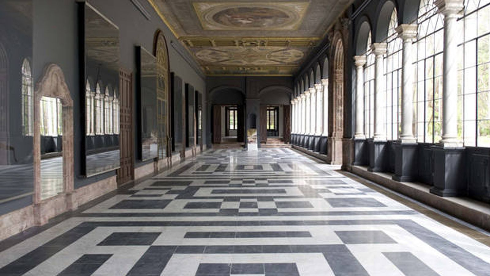 Foto: Uno de los espacios de la sede de Presidencia. (Web de la Junta de Andalucía)