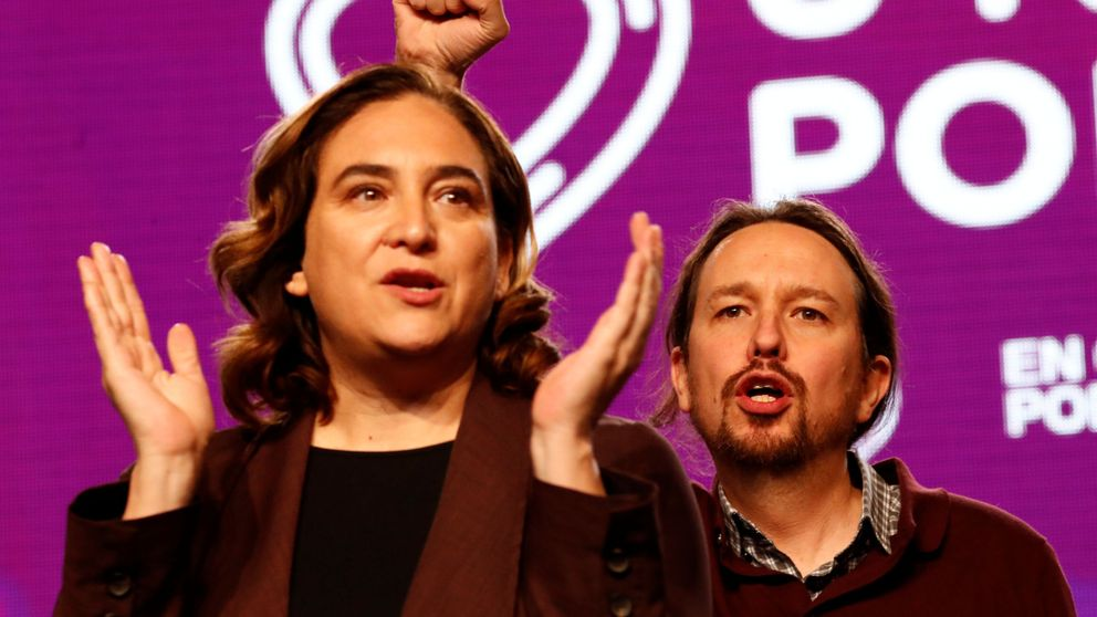 El vídeo de Colau: el machista habla castellano y el denunciante, catalán