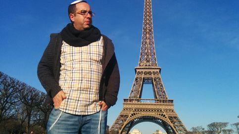 Diez horas de paseo silencioso por París con un judío con kipá