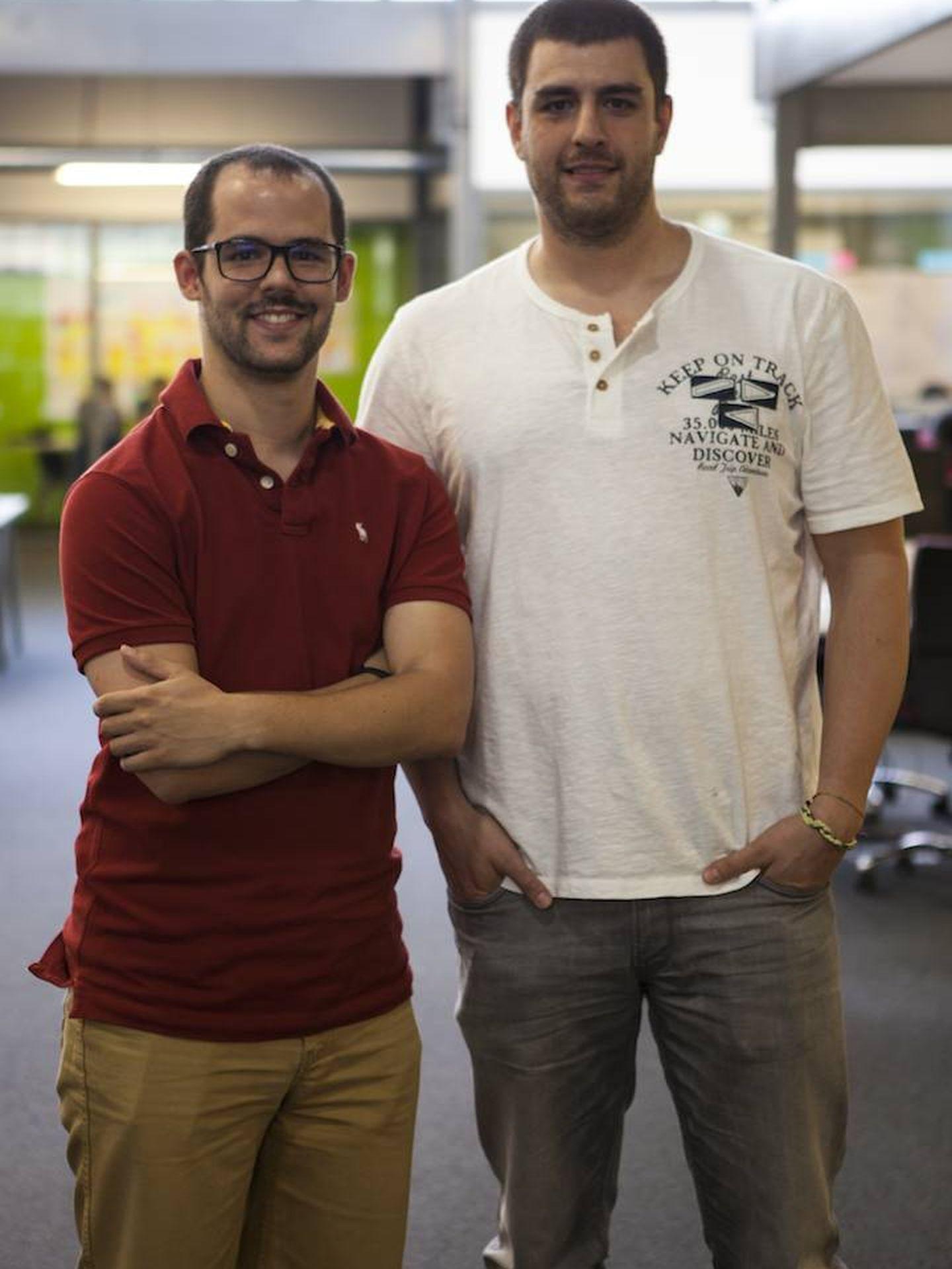 Edu Martín-Prieto y Rafa García, fundadores de AhorraEnLibros