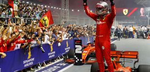 Post de Vettel se la juega a Leclerc en el lío de Ferrari y un desafortunado Carlos Sainz acaba 12º
