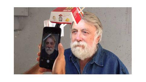 Una caja de Big Mac y un iPhone, los aliados de una sesión de retratos (profesionales)