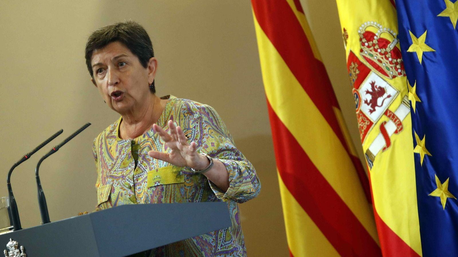 Foto: La delegada del Gobierno en Cataluña, Teresa Cunillera. (EFE)