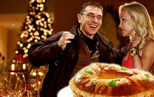 Monedero se come el roscón de Reyes en la casa de Lomana