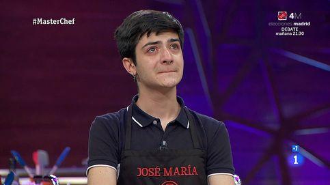 Nuevo mazazo a José María: expulsado de 'Masterchef' por hacer un pollo incomible