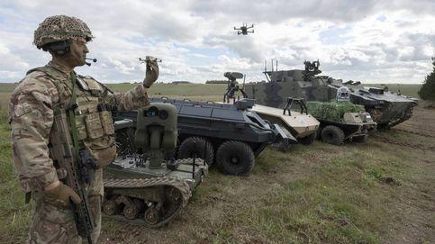 La revolución militar 'high tech' en Reino Unido es un avance de lo que nos espera