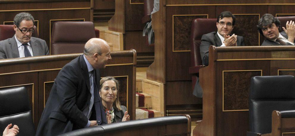 Foto: El ministro de Educación, José Ignacio Wert, en el Congreso de los Diputados (Fotografía: EFE)