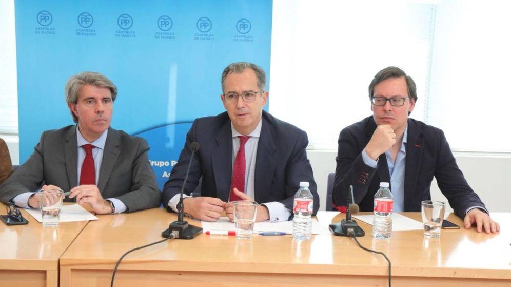 Foto: Ángel Garrido, Enrique Ossorio y Alfonso Serrano.