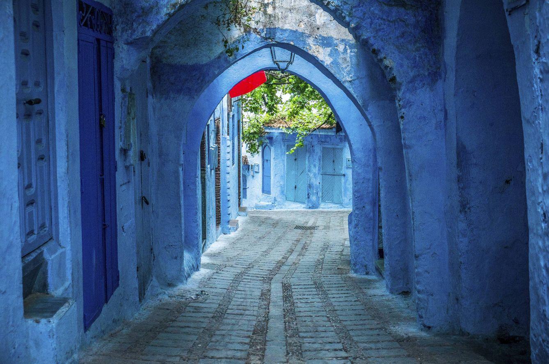 Foto: Chefchaouen, la ciudad 'pitufa' de Marruecos (Foto: Skyscanner)