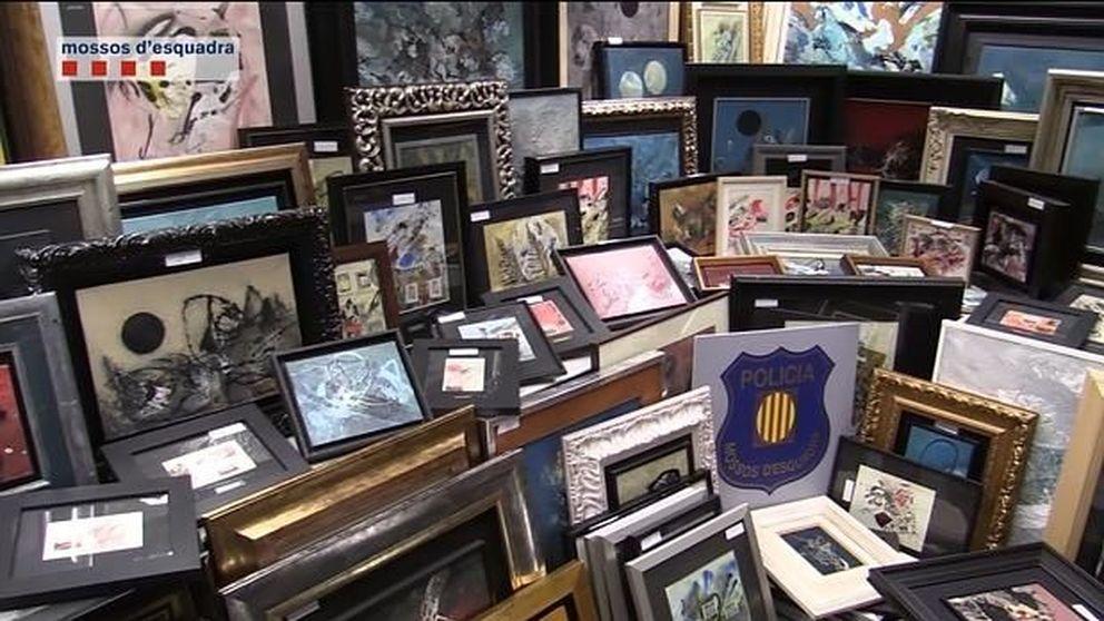 Un familiar del pintor Tharrats falsificó cientos de cuadros y hundió su obra