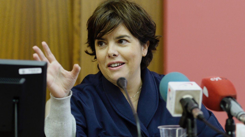 La exvicepresidenta del Gobierno Soraya Sáenz de Santamaría. (EFE)