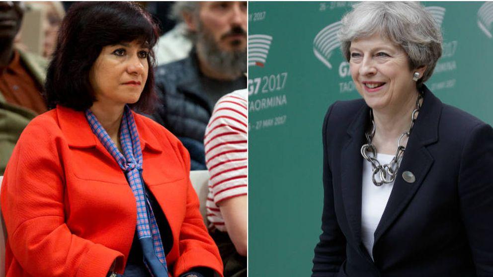 Elecciones Reino Unido: Theresa May y Laura Álvarez, las dos mujeres clave