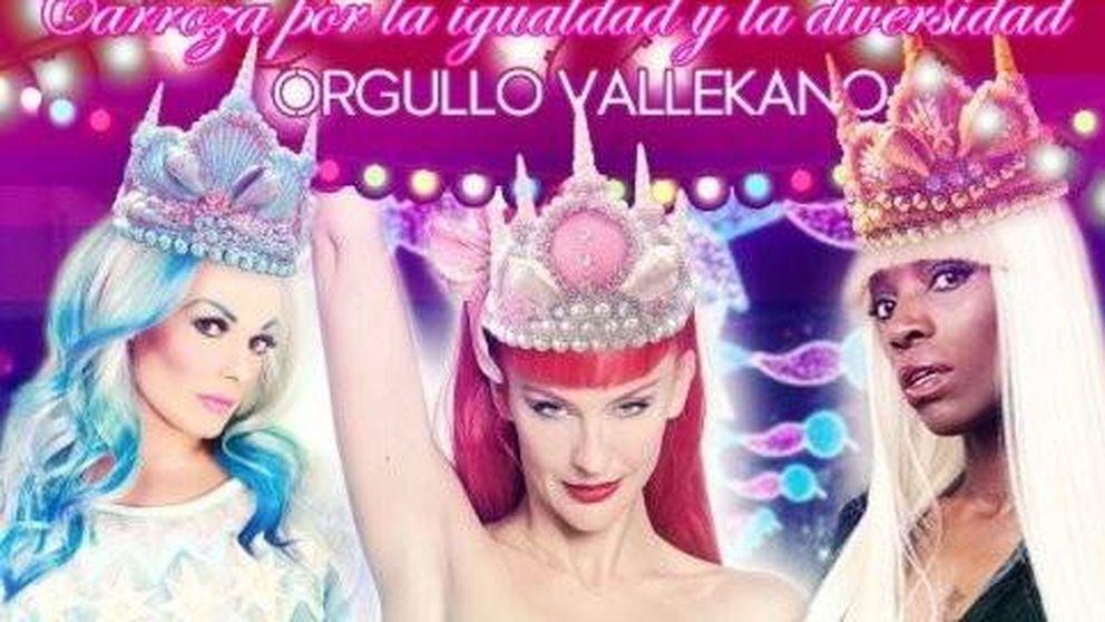 La asociación de la carroza 'drag queen' recibe amenazas: El cartón arde bien