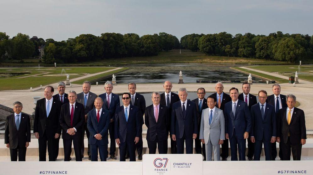 Foto: Reunión de los ministros de Finanzas del G7 en Francia. (Reuters)