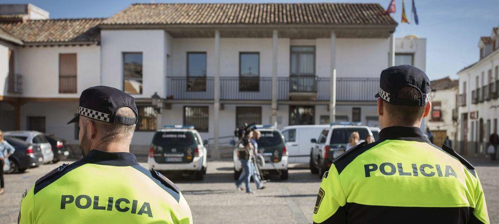 Foto: Registro del Ayuntamiento de Valdemoro en la Operación Púnica (Efe)