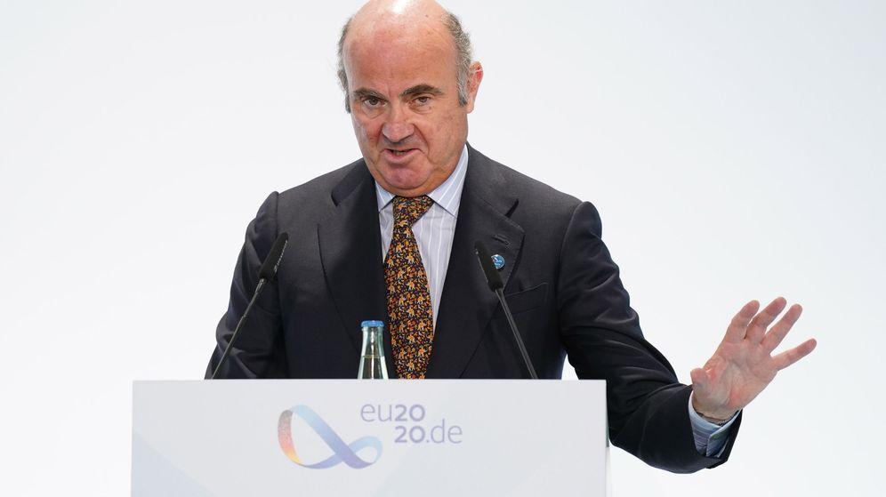 Foto: El vicepresidente del BCE, Luis de Guindos